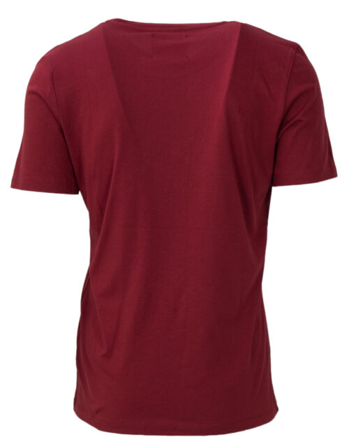 T-shirt Pyrex MAGLIA UNISEX JERSEY COLOR Bordeaux – 21327