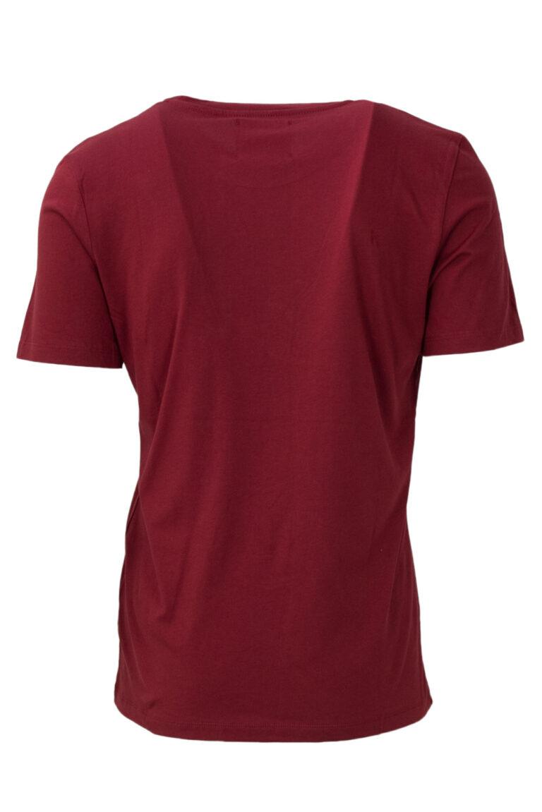 T-shirt Pyrex MAGLIA UNISEX JERSEY COLOR Bordeaux - Foto 2