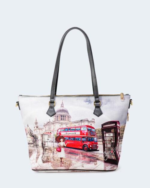 Borsa Y Not? SHOPPING london rainbow – 74221