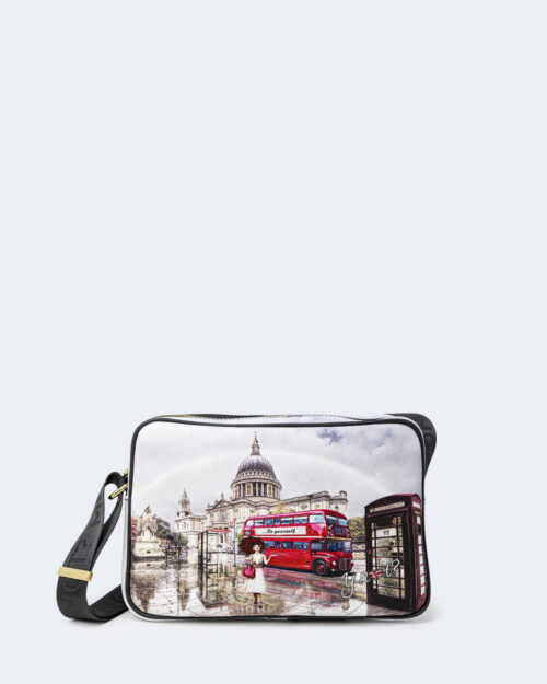 Borsa Y Not? CAMERA BAG MEDIUM london rainbow – 74220