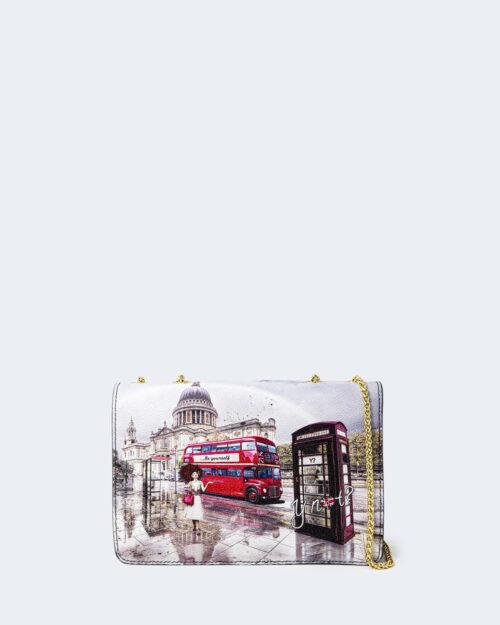 Borsa Y Not? FLAP BAG london rainbow – 74224