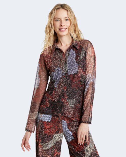 Camicia manica lunga Desigual AMBERES Arancione – 73441