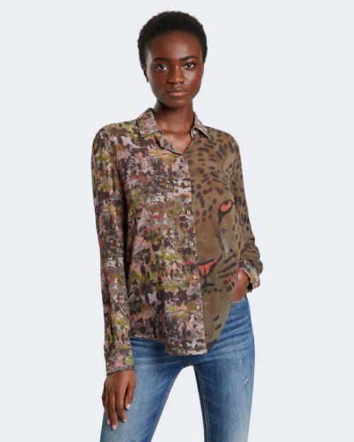 Camicia manica lunga Desigual DAYTONA PISTACCHIO – 76467