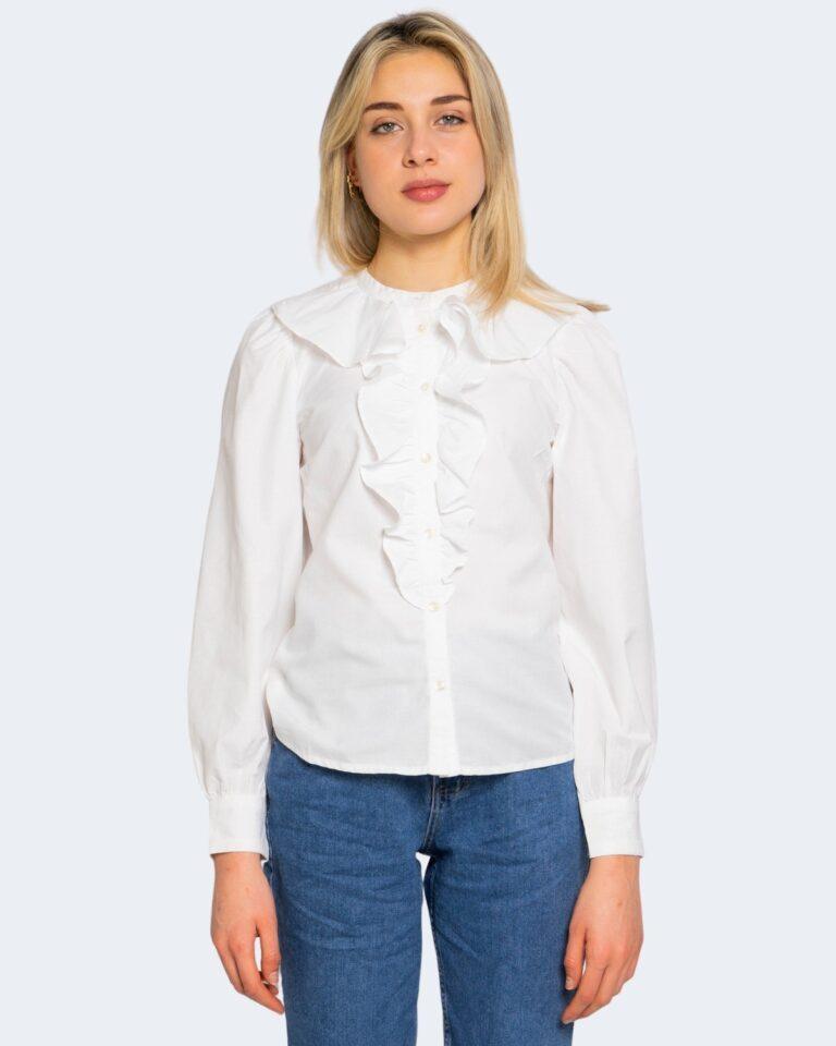 Camicia manica lunga Only GWENDA Panna - Foto 5