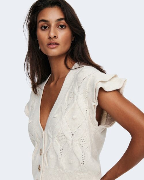 Cardigan Only OPUS Bianco – 71859