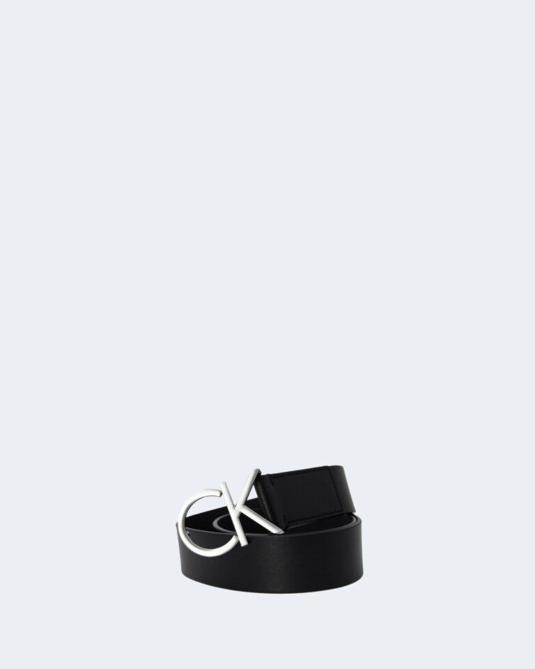 Cinta Calvin Klein CK LOGO BELT 3.5 CM Nero - Foto 1