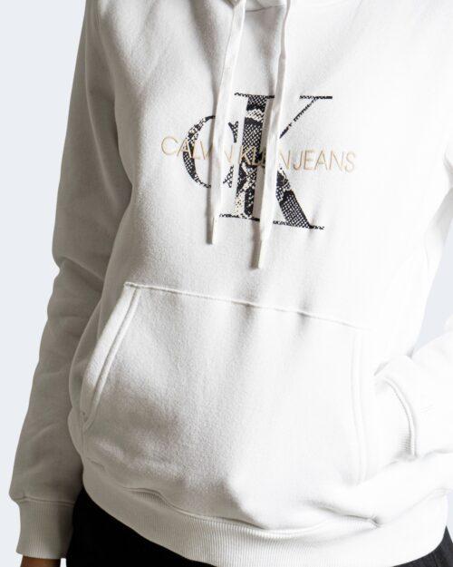 Felpa con cappuccio Calvin Klein _ Bianco – 72120