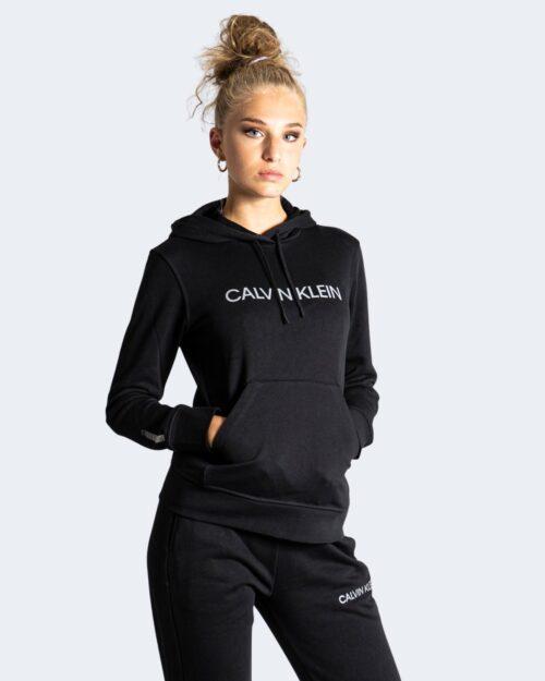 Felpa con cappuccio Calvin Klein Performance – Nero – 71994