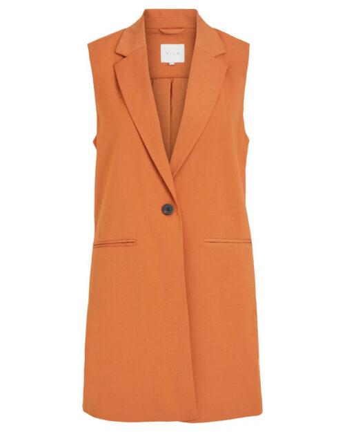 Gilet da completo Vila Clothes JANINE Arancione - Foto 5
