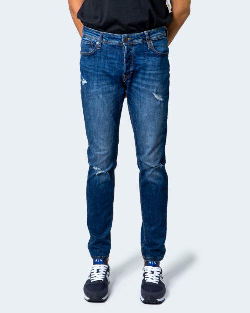 Jeans slim Jack Jones GLENN JJORIGINAL Denim scuro - Foto 5