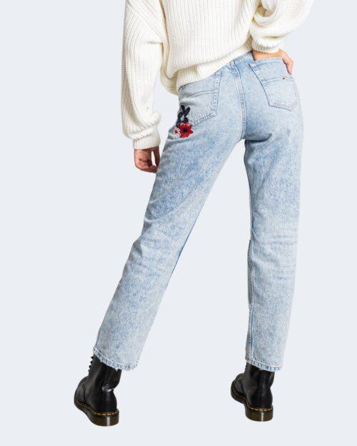 Jeans mom Tommy Hilfiger JULIE Denim chiaro – 72021