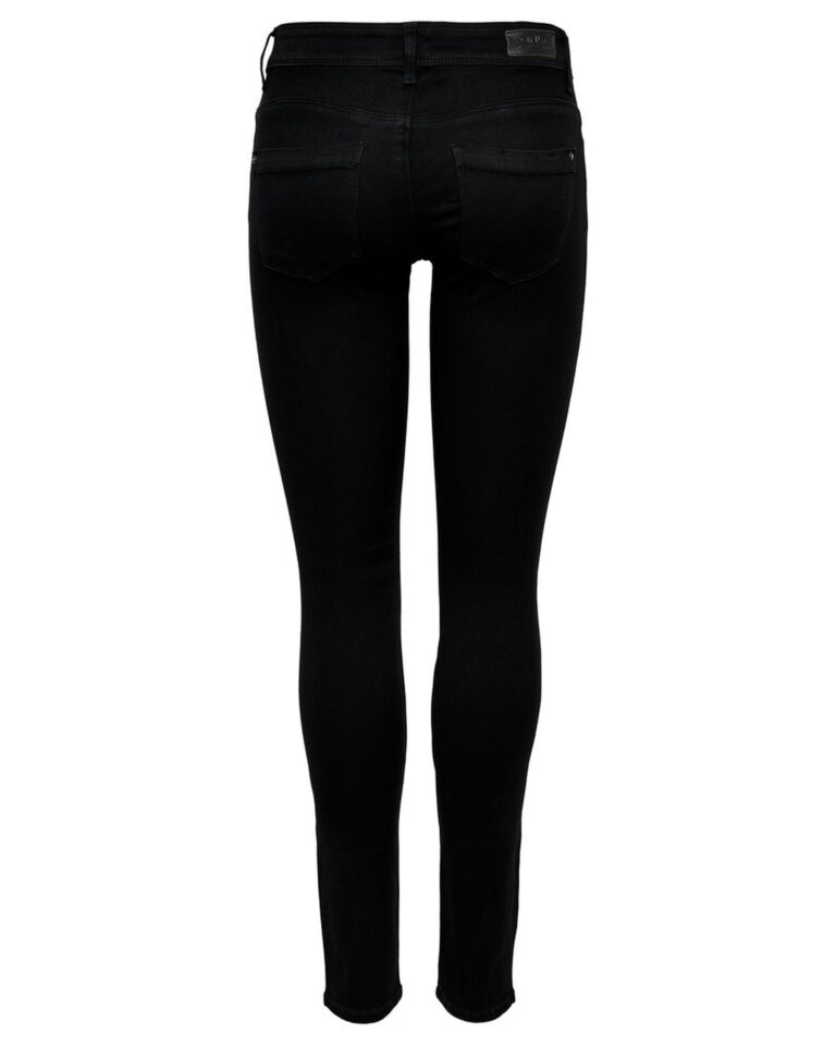 Jeans skinny Only ULTIMATE Nero - Foto 5