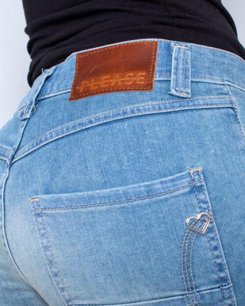 Shorts Please P88 SHORTS CHIARO Blue Denim Chiaro - Foto 5