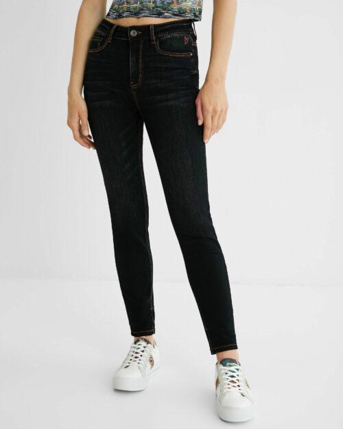 Jeans skinny Desigual ALBA Nero – 73277