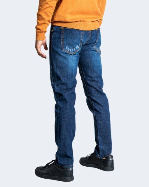 Jeans slim Tela Cotton LEVANTE Blue Denim Scuro – 76471