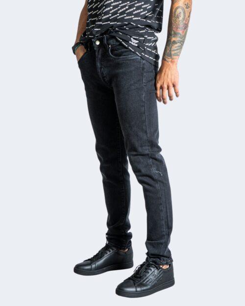 Jeans slim Tela Cotton HURAGAN Nero – 76475