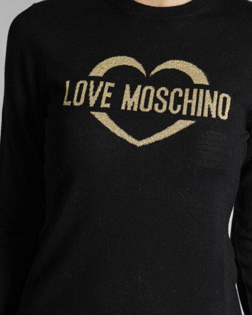 Maglia Love Moschino APPLY ON BAG Nero – 76658