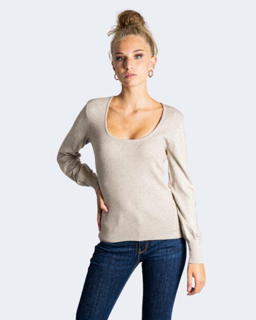 Maglia Vila Clothes BESTINA Beige – 76662