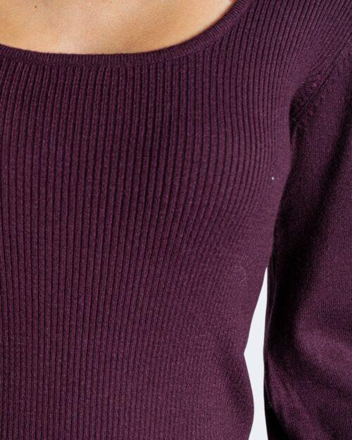 Maglia Vila Clothes BESTINA Bordeaux – 76662