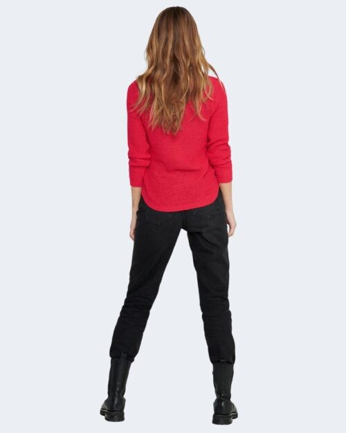 Maglione Only GEENA Rosso - Foto 5