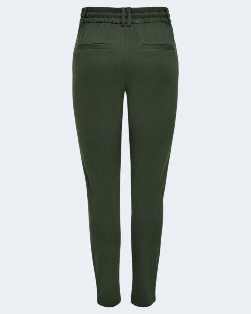 Pantaloni Only Poptrash Verde Scuro - Foto 5