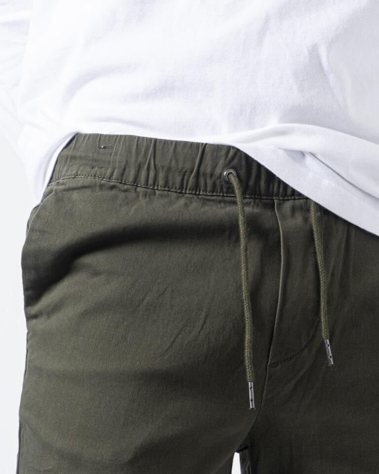 Pantaloni con cavallo basso Jack Jones VEGA JOGGER AKM Verde Oliva - Foto 5