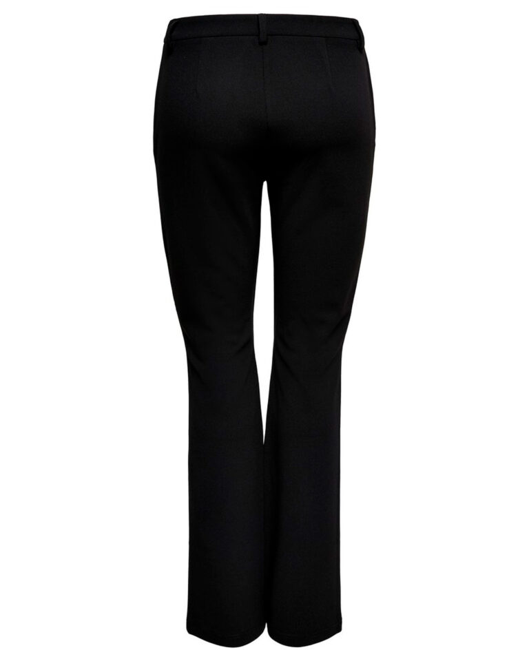 Pantaloni bootcut Only ROCKY MID FLARED PANT TLR NOOS Nero - Foto 5