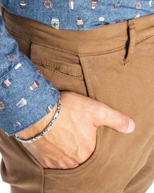Pantaloni slim Over-D CHINO Beige scuro - Foto 5