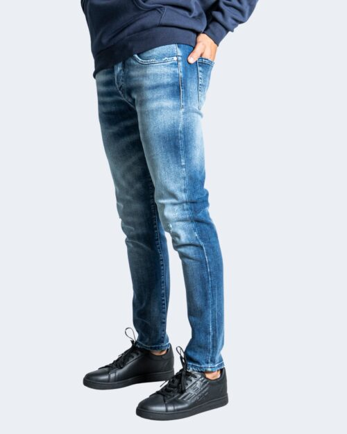Jeans slim Tela Cotton E-TRON Blue Denim – 76466