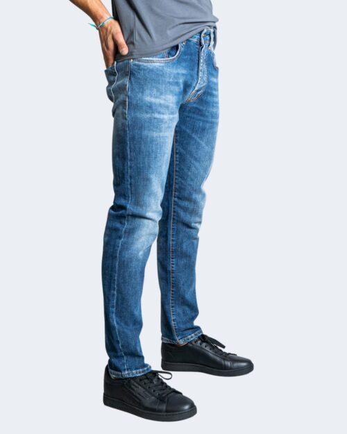 Jeans slim Tela Cotton URUS Blue Denim – 76469