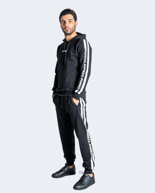 Pantaloni sportivi Pyrex LOGO LATERALE GAMBA Nero – 74241