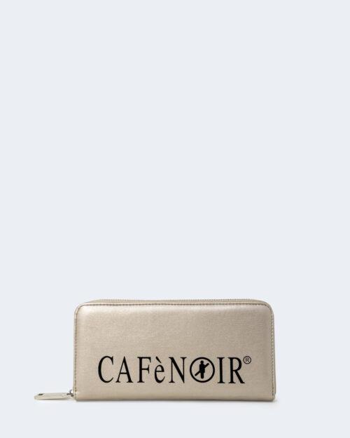 Portafoglio grande Cafè Noir STAMPA LOGO CAFèNOIR Platino – 74420