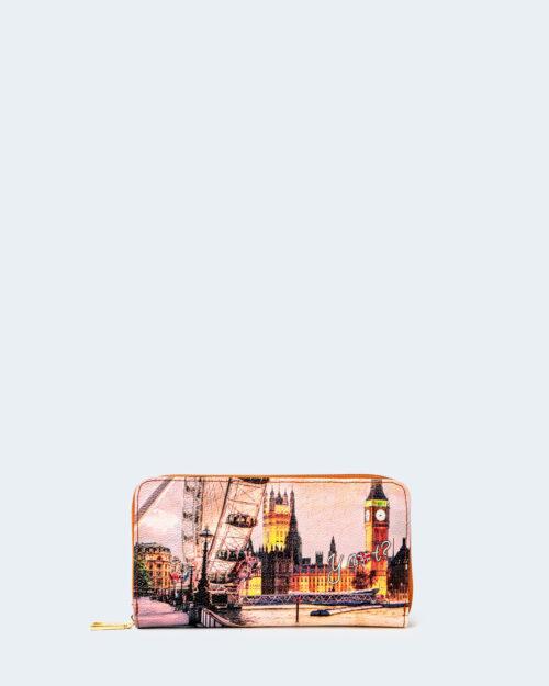 Portafoglio grande Y Not? – london rainbow – 74225