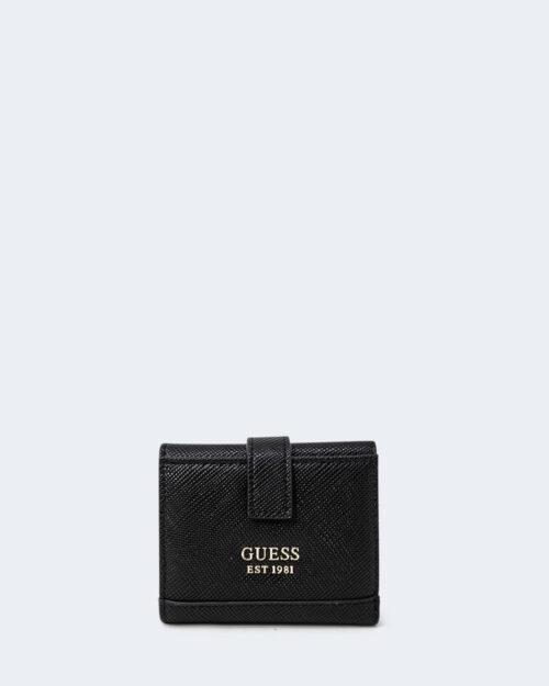 Portafoglio piccolo Guess CORDELIA SLG PETITE TRIFOLD Nero – 74414