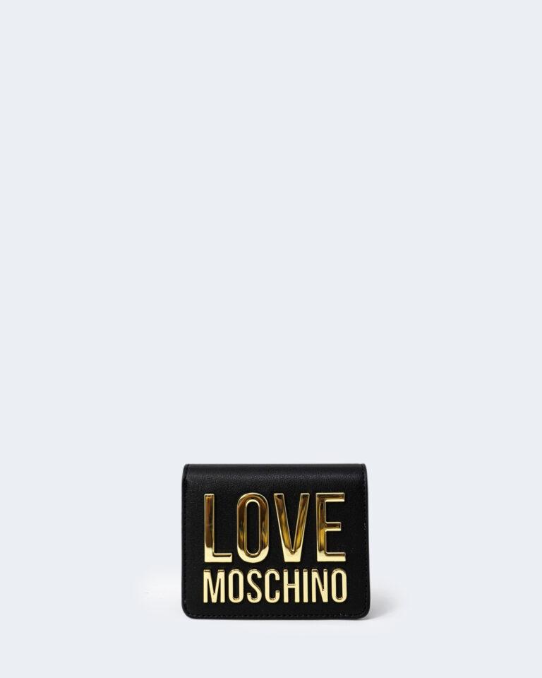 Portafoglio piccolo Love Moschino BONDED Nero - Foto 1