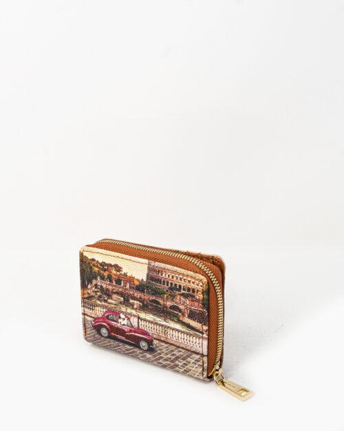 Portafoglio piccolo Y Not? – roma vintage – 74226