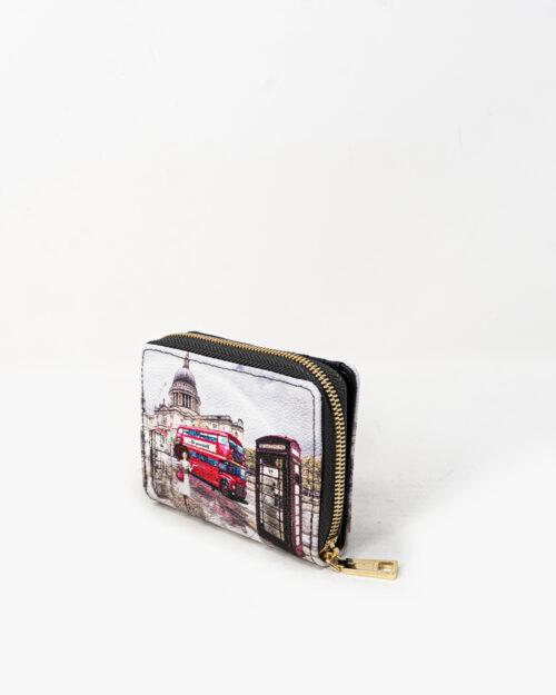 Portafoglio piccolo Y Not? – london rainbow – 74226