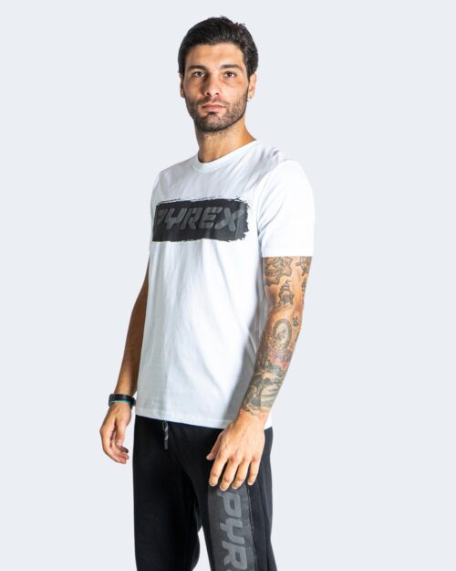 T-shirt Pyrex LOGO GOMMATO Bianco – 74244