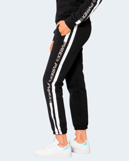 Pantaloni sportivi Pyrex LOGO BRILLANTINI LATO GAMBA Nero – 74242