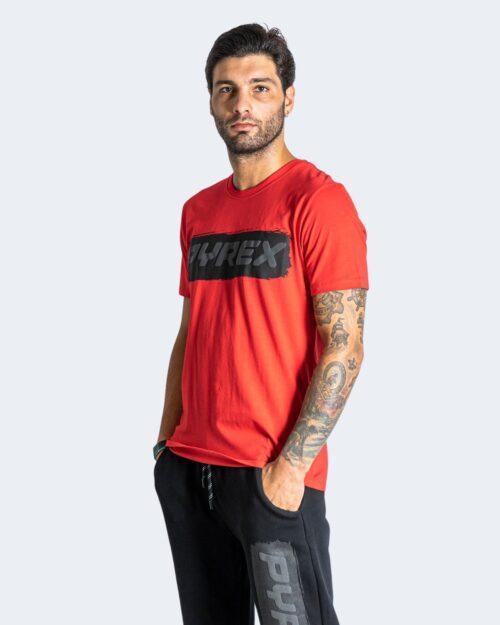 T-shirt Pyrex LOGO GOMMATO Rosso – 74244