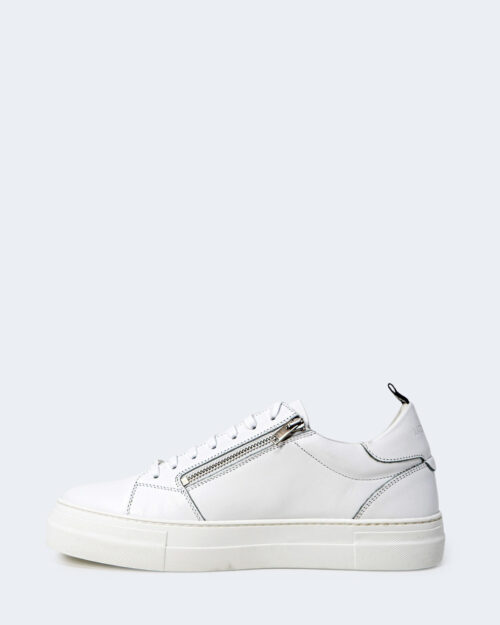 Sneakers Antony Morato SNEAKER ZIPPER IN PELLE 0010723 – LE300001 Bianco – 72737