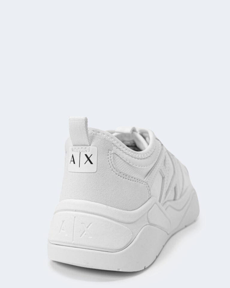 Sneakers Armani Exchange MICRO SUEDE Bianco - Foto 5