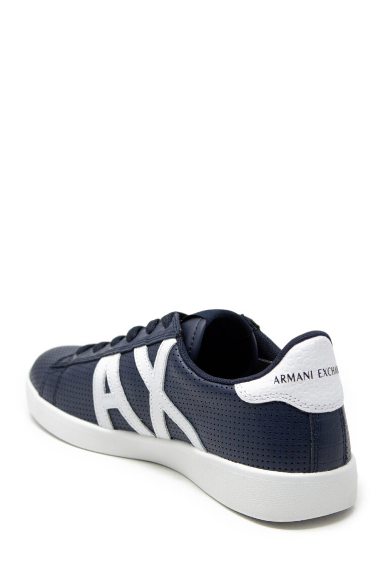 Sneakers Armani Exchange Action Blue scuro - Foto 5