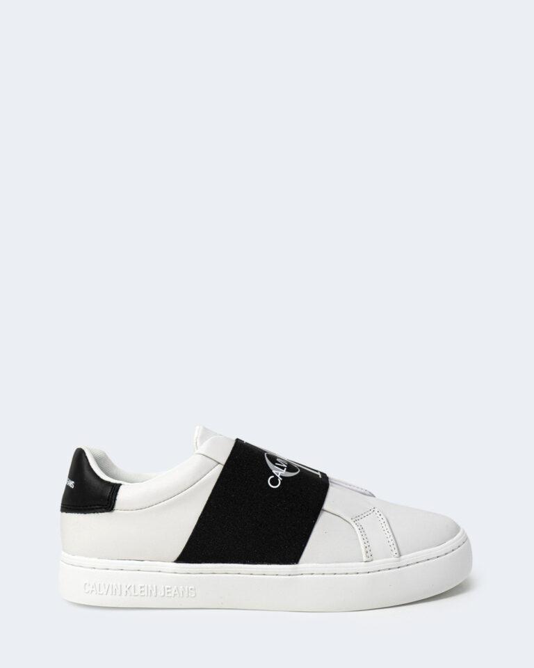 Sneakers Calvin Klein Jeans CUPSOLE ELASTIC Bianco - Foto 1