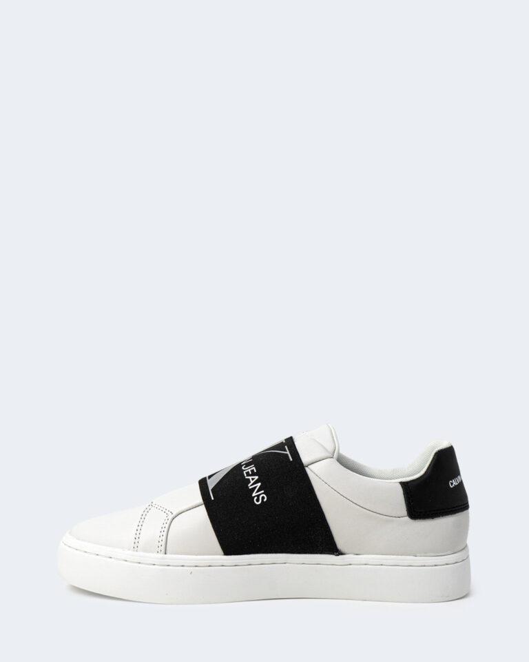 Sneakers Calvin Klein Jeans CUPSOLE ELASTIC Bianco - Foto 2