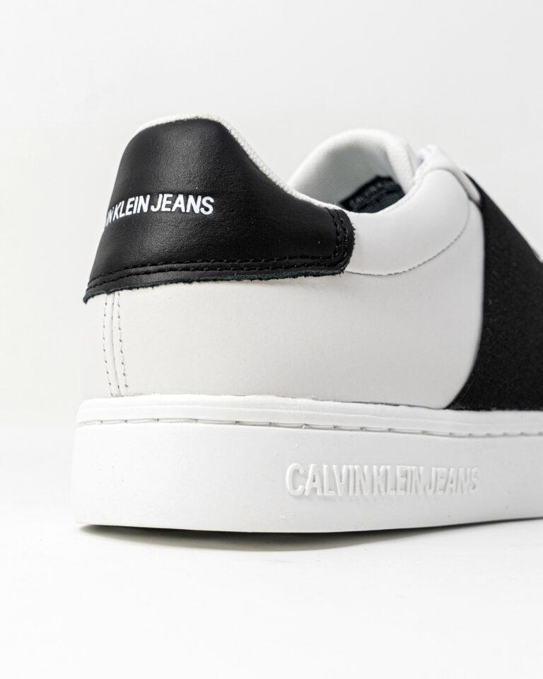 Sneakers Calvin Klein Jeans CUPSOLE ELASTIC Bianco - Foto 3
