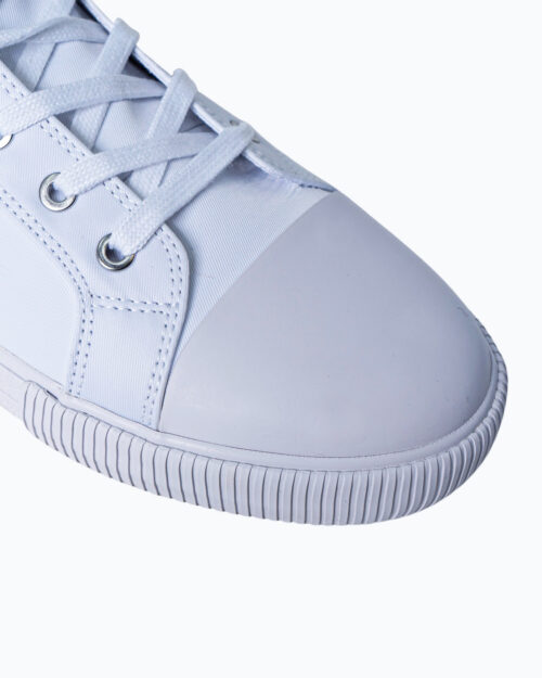 Sneakers Calvin Klein Jeans VULCANIZED HIGH LAC Bianco - Foto 5