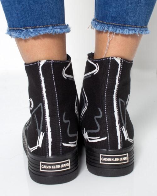 Sneakers Calvin Klein Jeans ZENIA Nero - Foto 5