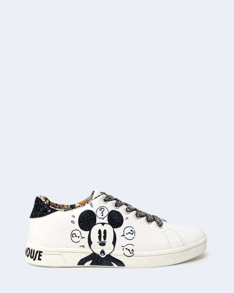 Sneakers Desigual COSMIC MICKEY GLITTER Bianco - Foto 1