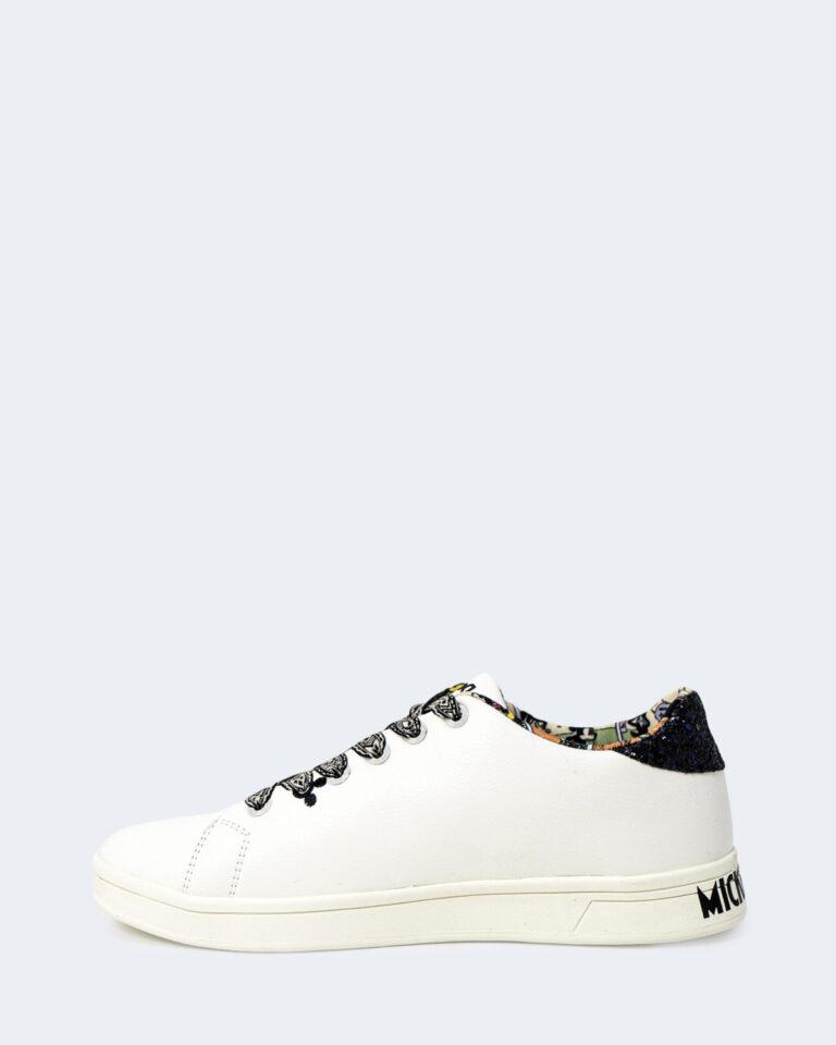 Sneakers Desigual COSMIC MICKEY GLITTER Bianco - Foto 2